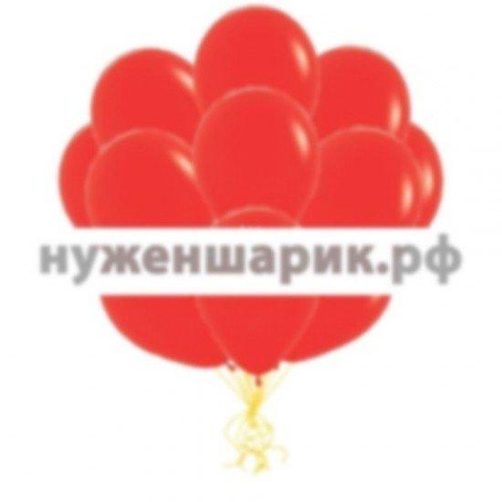 Облако Красных воздушных шаров Пастель