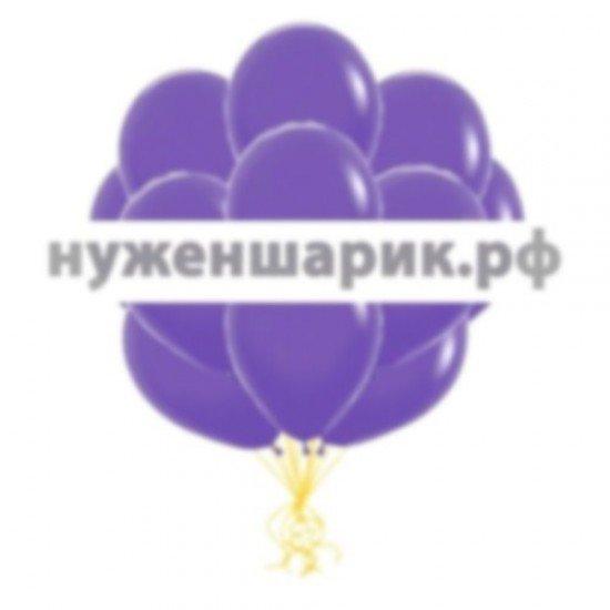 Облако Фиолетовых воздушных шаров Пастель