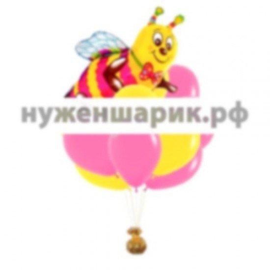 Букет из воздушных шаров Пчелка