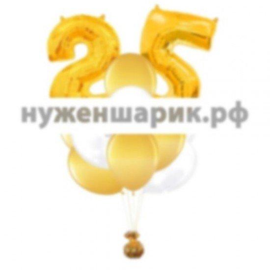 Связка из воздушных шаров  25?