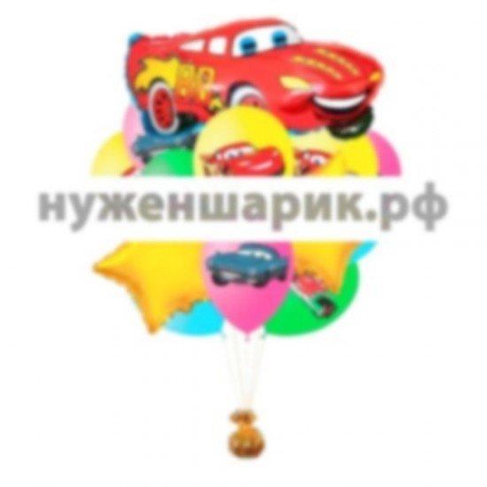 Букет из воздушных шаров Тачка