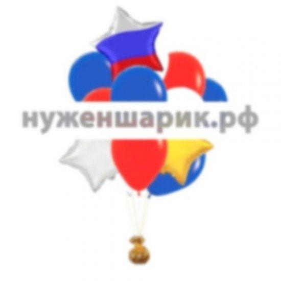 Букет из воздушных шаров Триколор