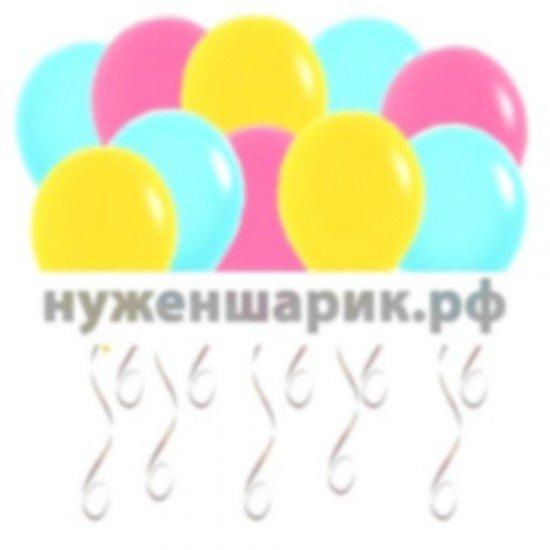 Шары под потолок Тиффани, Желтые, Фуше
