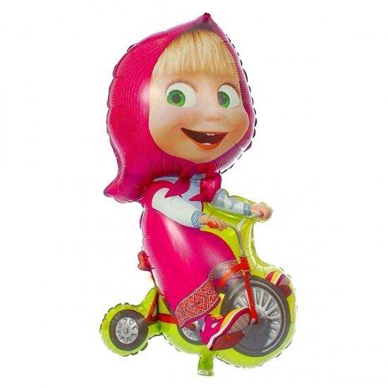 Фигура, Маша на велосипеде, 99 см