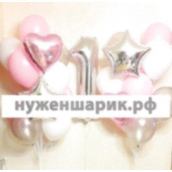 Композиция из воздушных шаров Прелесть