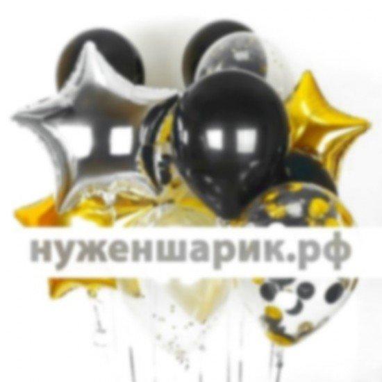 Композиция из воздушных шаров Сияние