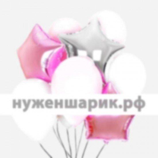 Композиция из воздушных шаров Розовая нежность