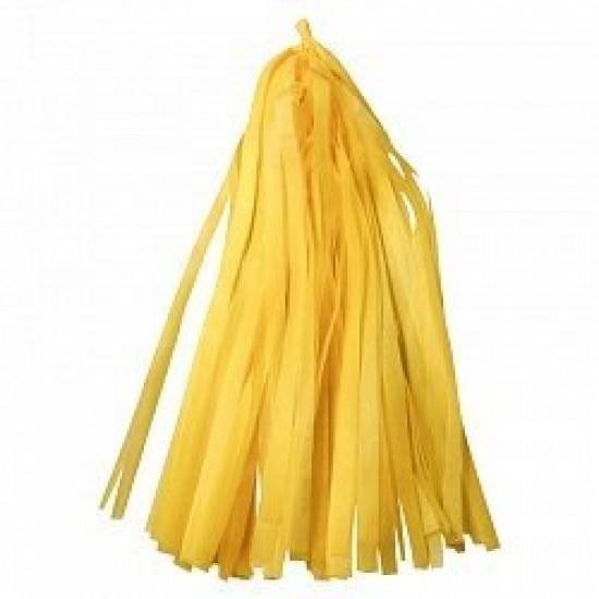 Гирлянда Тассел, Желтая, 3 м, 12 листов