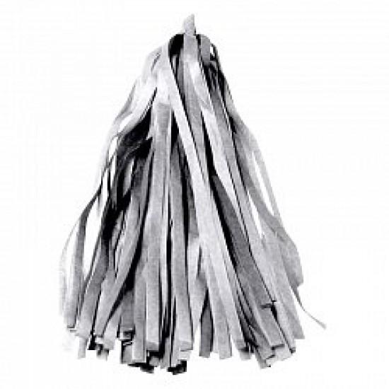 Гирлянда Тассел, Серебро, 3 м, 12 листов