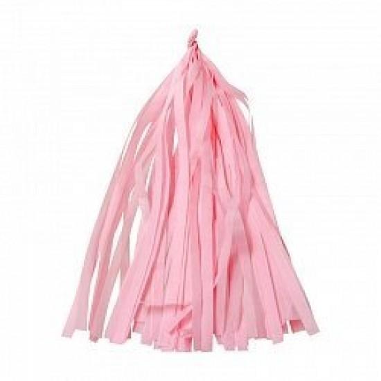 Гирлянда Тассел, Светло-розовая, 3 м, 12 листов