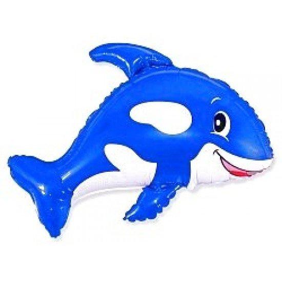 Фигура, Веселый кит, Синий, 89 см