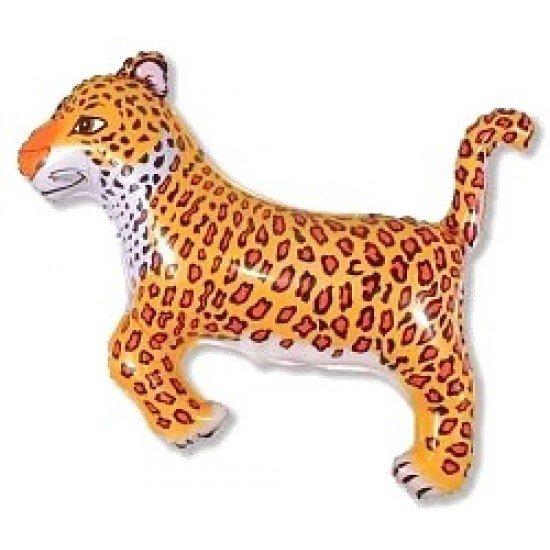 Фигура, Леопард, Черный, 91 см