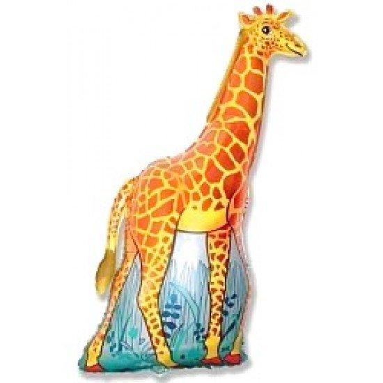 Фигура, Жираф, Оранжевый, 119 см