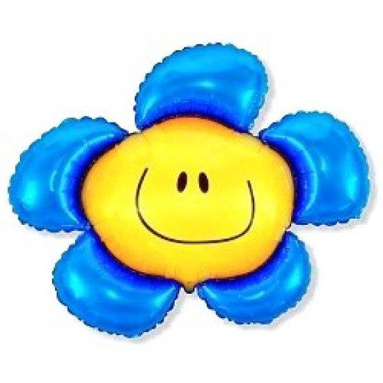 Фигура, Солнечная улыбка, Синий, 104 см