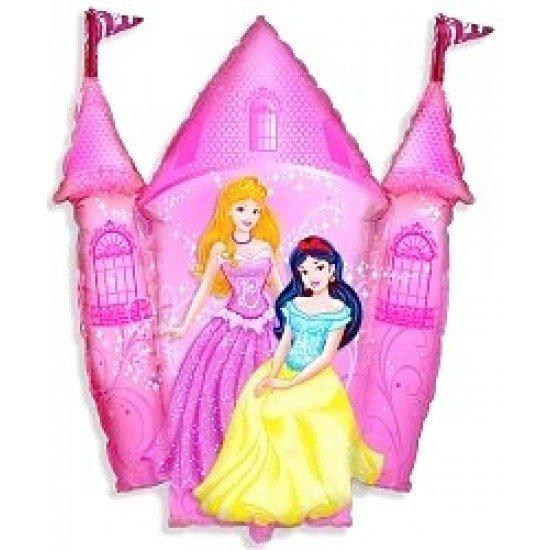 Фигура, Замок принцессы, Розовый, 86 см