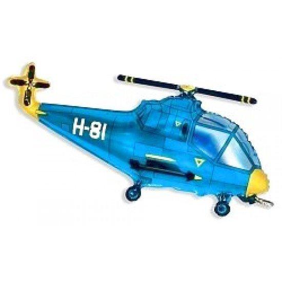 Фигура, Вертолет, Синий, 97 см